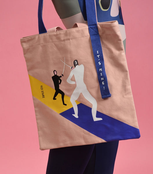 Fencing It's Mine Tote Bag By YIZI