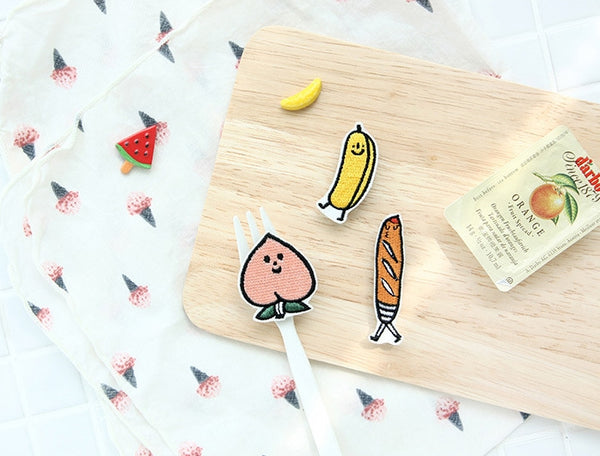 Stitch [Banana] Brooch By Jam Jam