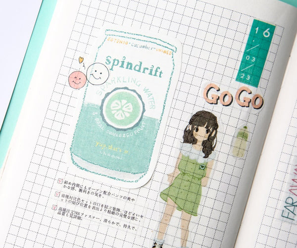 Japanese Drink [Spindrift Sparkling Water] Sticky Notes