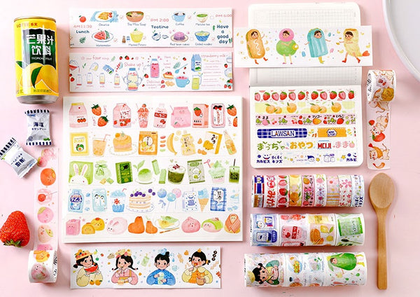 Japanese Snacks [Banana] Washi Tape