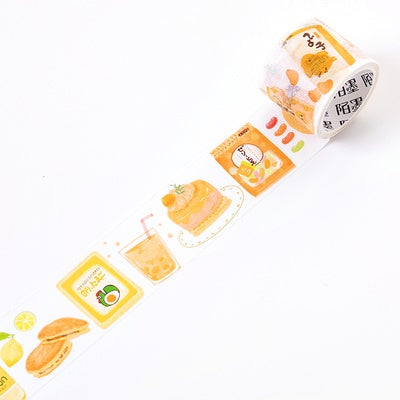 Japanese Snacks Banana Washi Tape