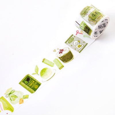 Japanese Snacks Matcha Washi Tape