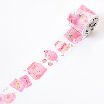 Japanese Snacks Peach Washi Tape