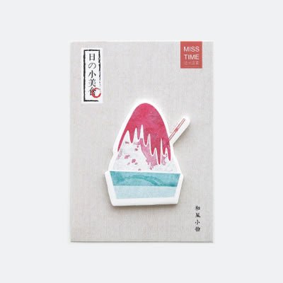 Japanese Food Ice Cream Sticky Notes