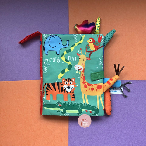 Jungly Fun Tail Cloth Baby Book