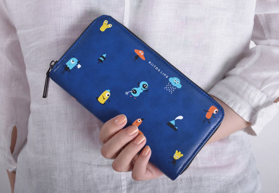 Tiny Monsters Long Wallet