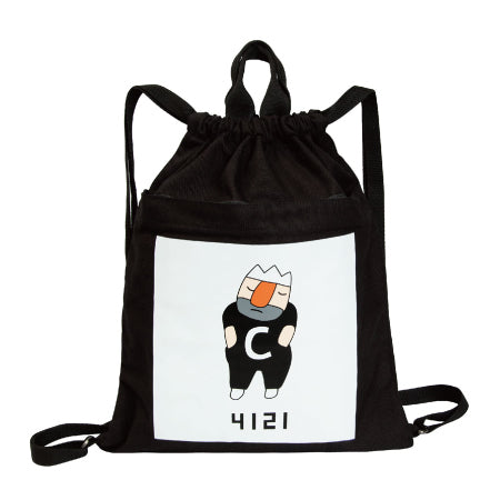 C King Drawstring Backpack By YIZI