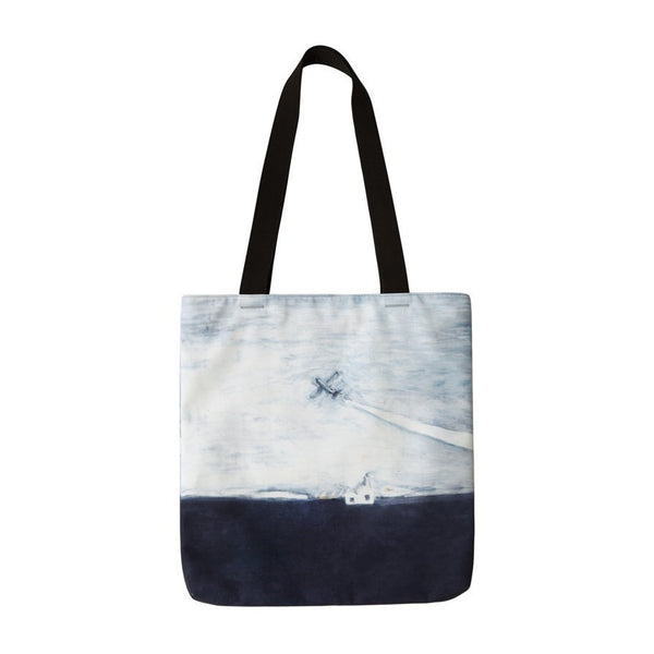 Landscape [Airplane] Tote Bag By YIZI STORE