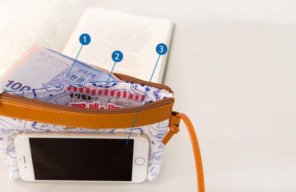 Semi Transparent Sling Bag By Bentoy