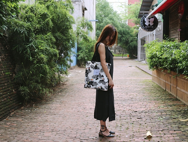 Plants [Toucan] Tote Bag By Colourup