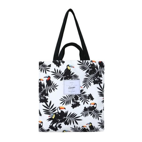Plants Toucan Tote Bag By Colourup