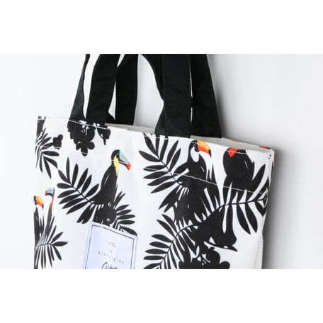 Plants [Watercolour Leaves] Tote Bag By Colourup
