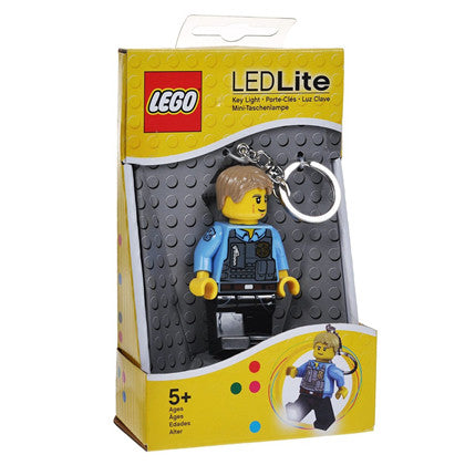 Lego City Chase McCain Key Light