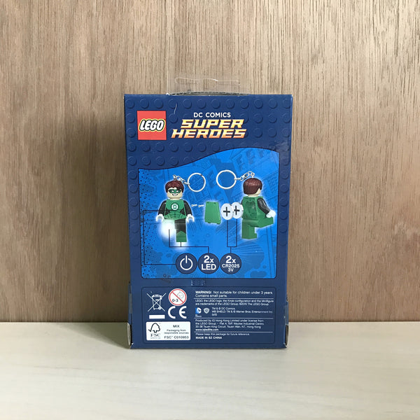 Lego DC Super Heroes Green Lantern Key Light