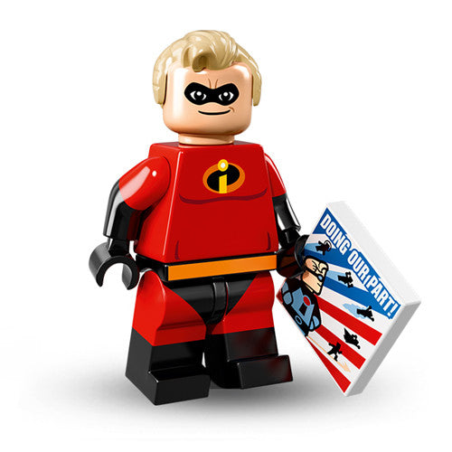 Lego Disney Series 1 Minifigures - Mr Incredible