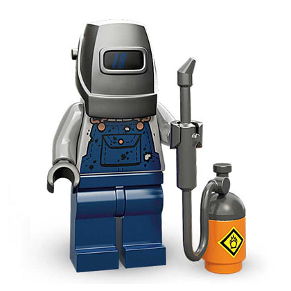 Lego Minifigures Series 11 - Welder