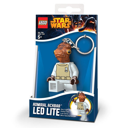 Lego Star Wars Admiral Ackbar Key Light