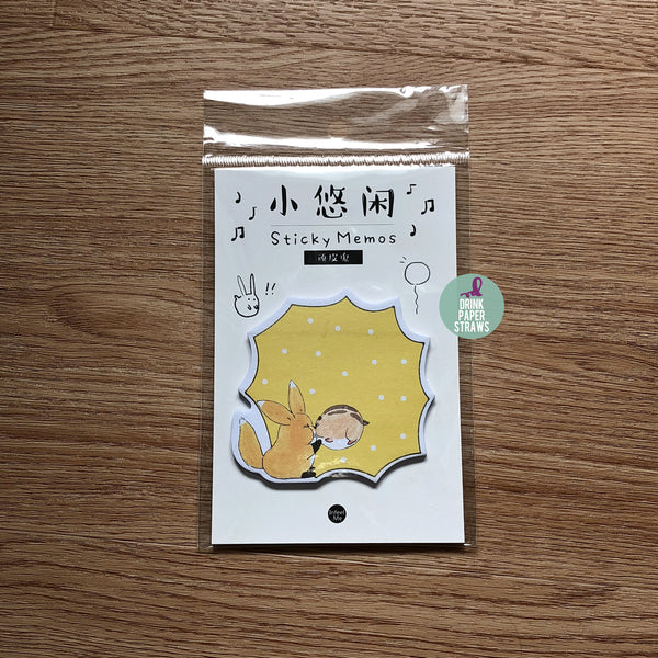 Leisure Yellow Sticky Notes