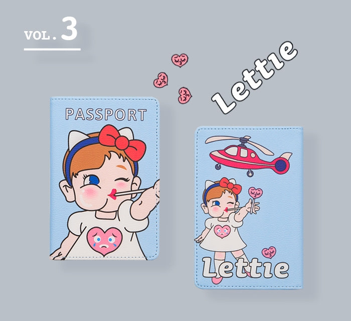 [Pre-Order] Girls Passport Cover By Bentoy