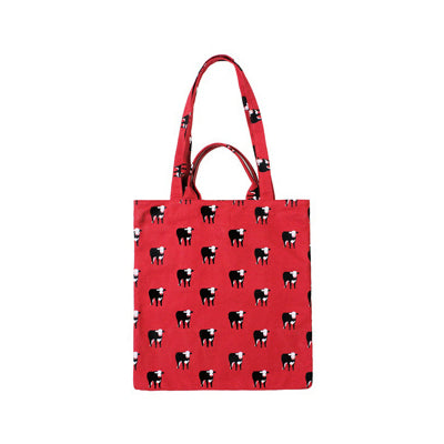 Lifestyle [Cow] Tote Bag By YIZI STORE