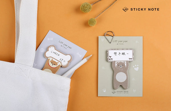 Lift Paw Paw [Bear] Sticky Notes
