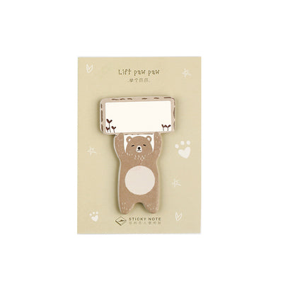 Lift Paw Paw Bear Sticky Notes
