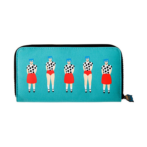 Lily & Lucy Polka Dot Long Wallet By YIZI STORE X KOMESHOP