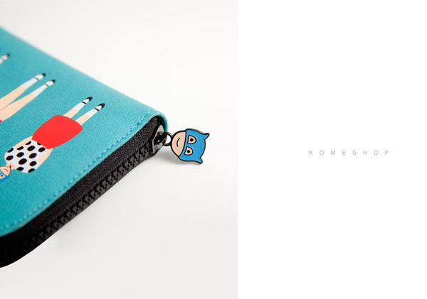 Lily & Lucy [Polka Dot] Long Wallet By YIZI STORE X KOMESHOP