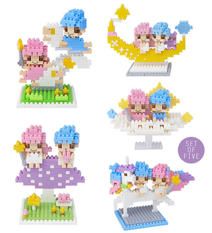 TICO Brick Little Twin Stars - Set of 5