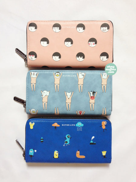 Long [Girl] Wallet by Kiitos Life
