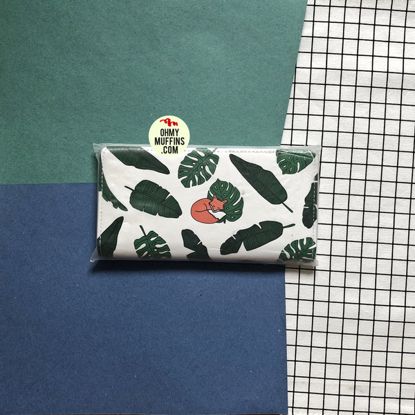 Lovely Animals Fox Long Wallet By Kiitos Life