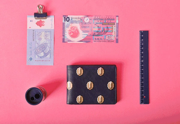 Lucky Short Wallet By Kiitos Life - OUT OF PRODUCTION