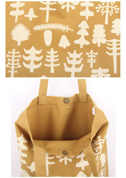 Forest Printed Tote Bag by MOMO