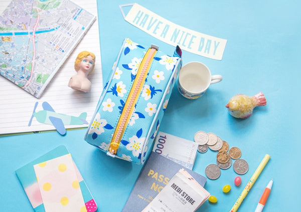 Blue Merci Pencil Case By Bentoy