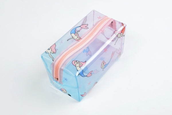 Fun At The Sea Mermaid Transparent Pouch By Kiitos Life