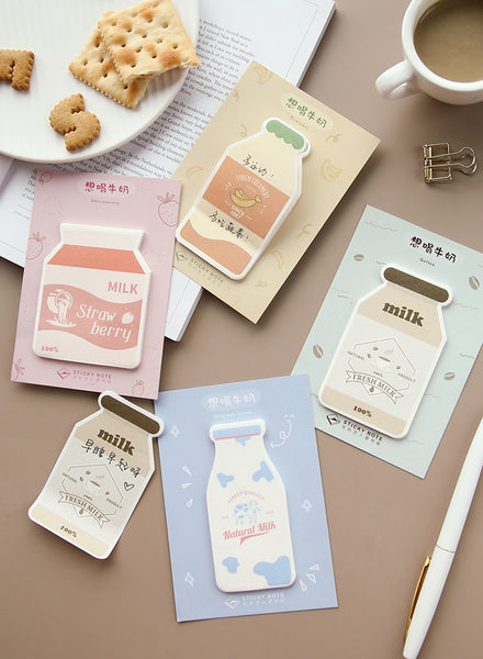 Milk [Strawberry Milk] Sticky Notes