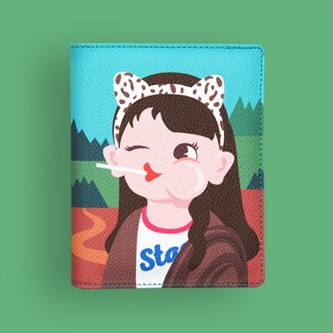 Princess Mona Lisa Passport Cover By Bentoy