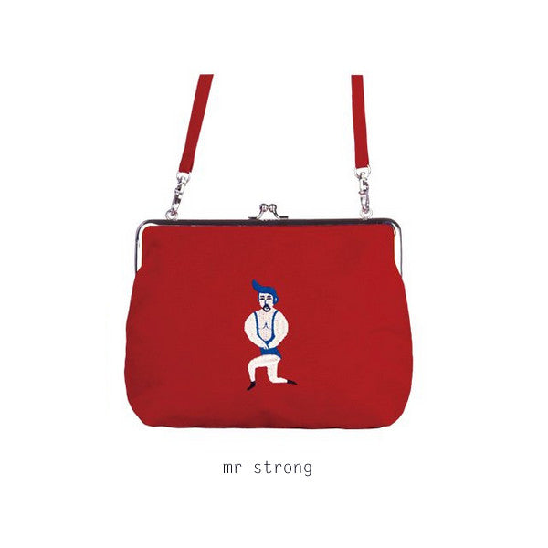 Ball Clasp (Mr Strong) Pouch by YIZI - OUT OF PRODUCTION