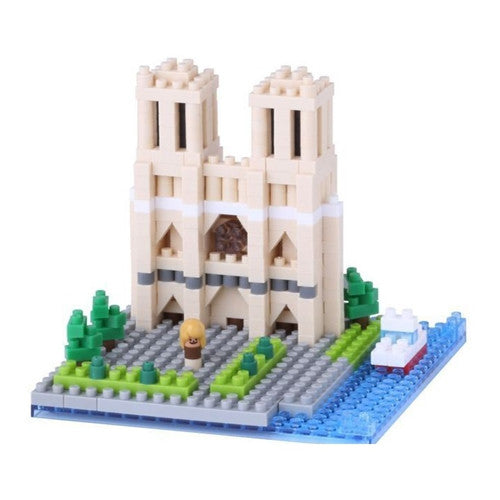 Nanoblock France Cathedrale Notre-Dame De Paris