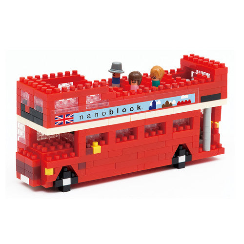 Nanoblock United Kingdom London Tour Bus