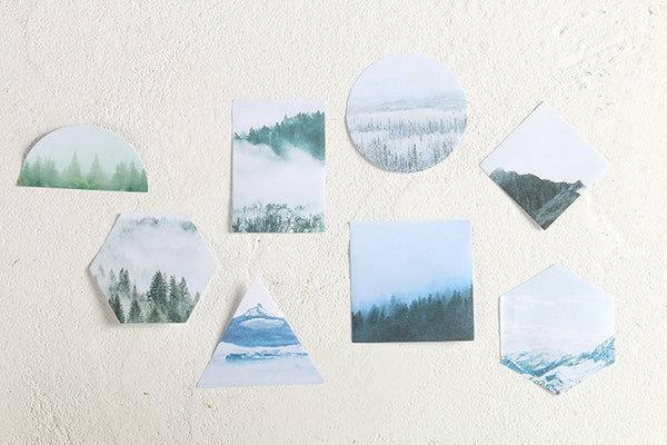 Nordic Landscape [Mountain Cap] Sticky Notes