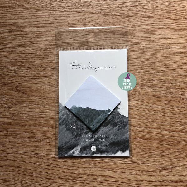 Nordic Landscape Ink Sticky Notes