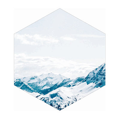 Nordic Landscape Mountain Sticky Notes