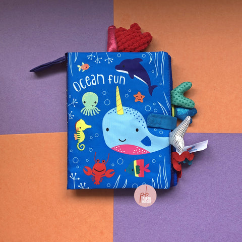 Ocean Fun Tail Cloth Baby Book