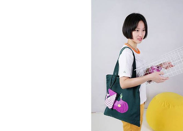 Onion Vegetables Tote Bag By 小野 (Xao Ye)