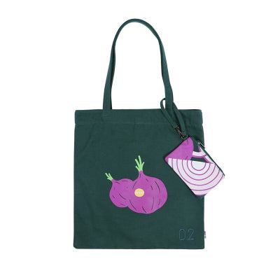 Vegetable Onion Tote Bag By 小野 Xaoye
