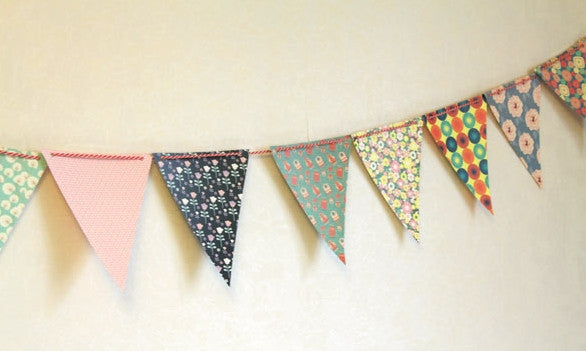 Paper Bunting Flags by Bentoy
