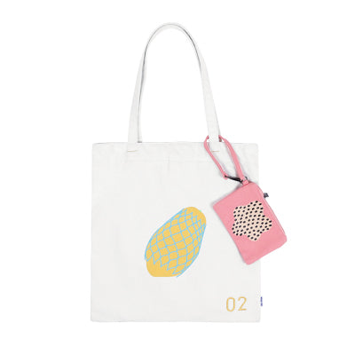 Fruit Papaya Tote Bag By 小野 Xaoye