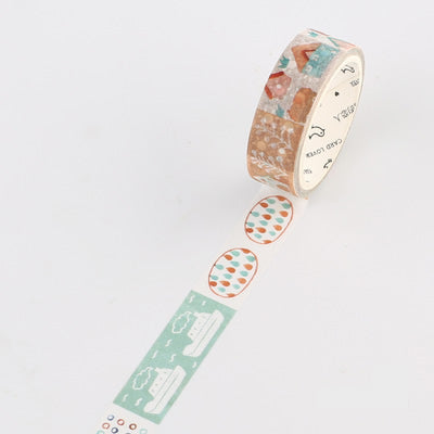 Patchwork House Washi Tape