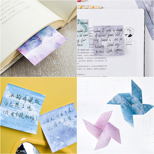 Pattern Square [Light Blue] Sticky Notes